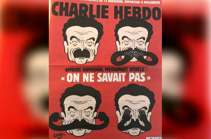 Affaire Tariq Ramadan : Charlie Hebdo dénonce la cécité d'Edwy Plenel