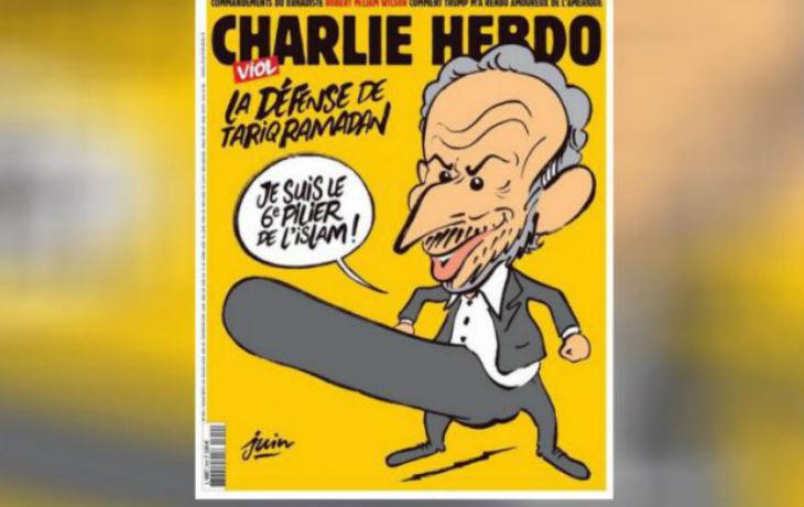 Visé par de nouvelles menaces de mort après sa une sur Tariq Ramadan, Charlie Hebdo porte plainte