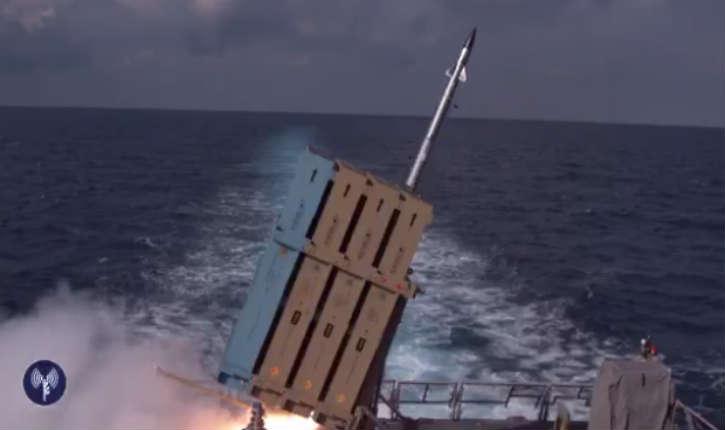 Tsahal : le système Dôme de Fer maritime est opérationnel