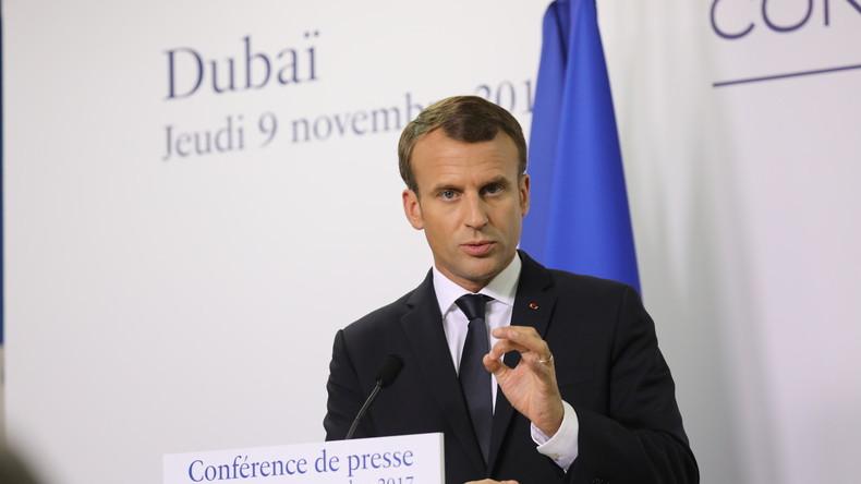Pour contrer l'Iran, Macron change de ton et veut renégocier l'accord sur le nucléaire iranien à l'instar de Donald Trump