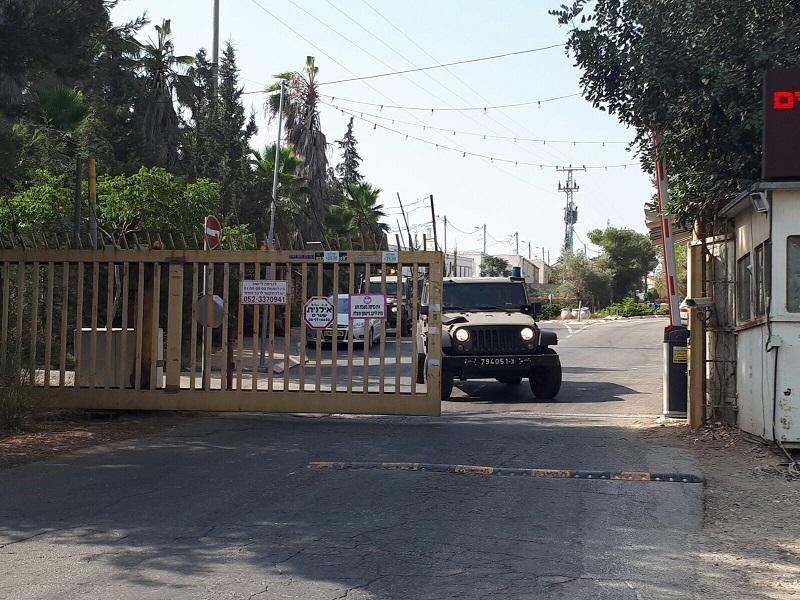 Judée Samarie : Tentative d'attaque terroriste à la voiture-bélier à l'entrée de l'implantation de Halamish