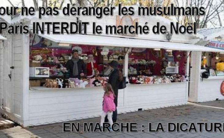 Paris a-t-il vraiment interdit le marché de Noël « pour ne pas déranger les musulmans » ?