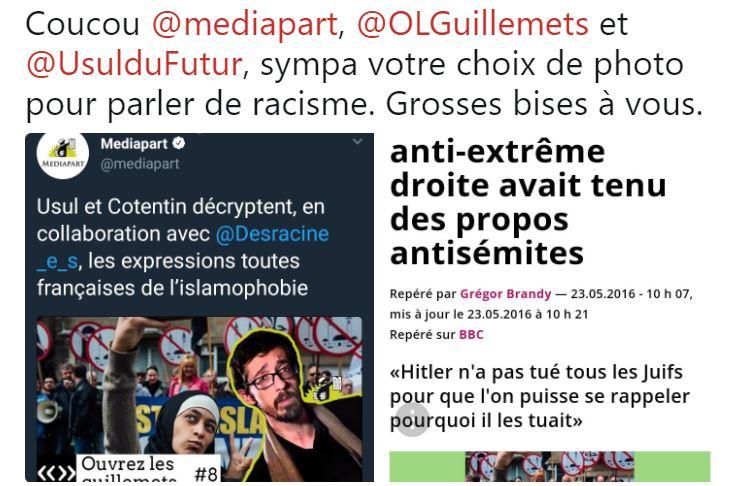 Vidéo de Médiapart : La musulmane héroïne de la vidéo anti-islamophobie est une antisémite
