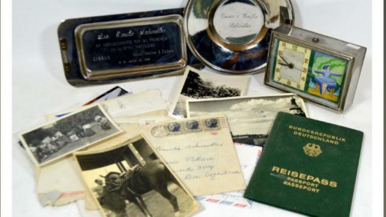 Des lettres de remerciements à Schindler en vente aux enchères