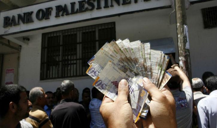 Le salaire moyen d'un Palestinien est 2.5 foisplus élevé qu'en Tunisie et le double du Maroc