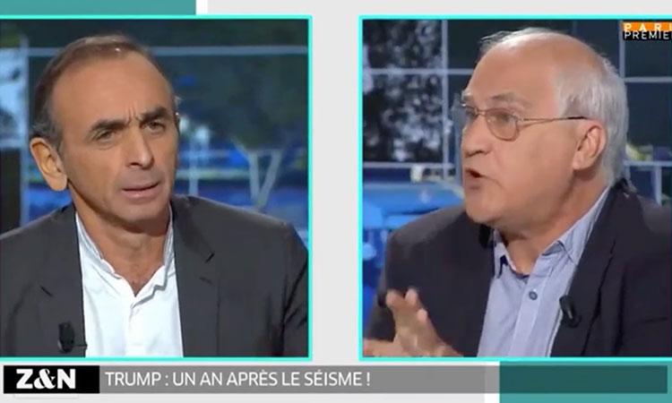 Zemmour : « Hitler est mort, le nazisme n'existe plus; les antiracistes sont une catastrophe »
