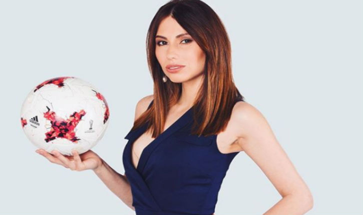 Des supporters iraniens ont demandé à l'animatrice russe de s'habiller «moins sexy» pourle tirage au sort de la Coupe du monde 2018 à Moscou