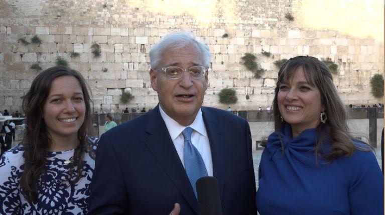 L'ambassadeur US en Israël appelle à ne plus utiliser le terme «occupation» : «Il y a une signification nationale, historique et religieuse importante pour ces implantations»