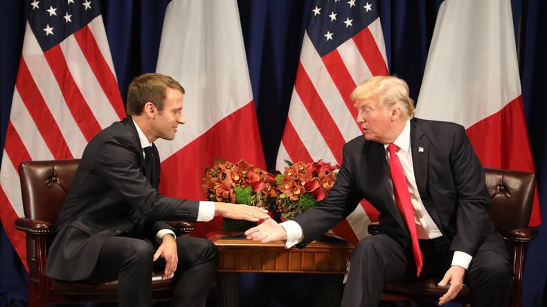 Macron affirme avoir convaincu Trump de rester en Syrie. La Maison Blanche dément : «Le Président a été clair sur le fait qu'il voulait que les troupes rentrent le plus vite possible»