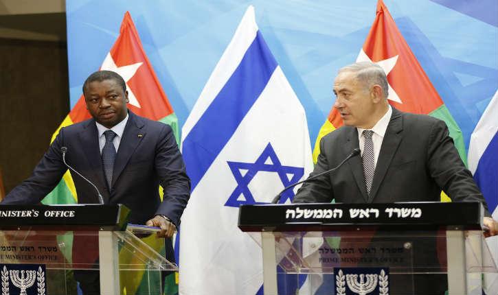 Les israéliens très heureux du Togo, seul pays africain à voter contre la résolution des nations unies