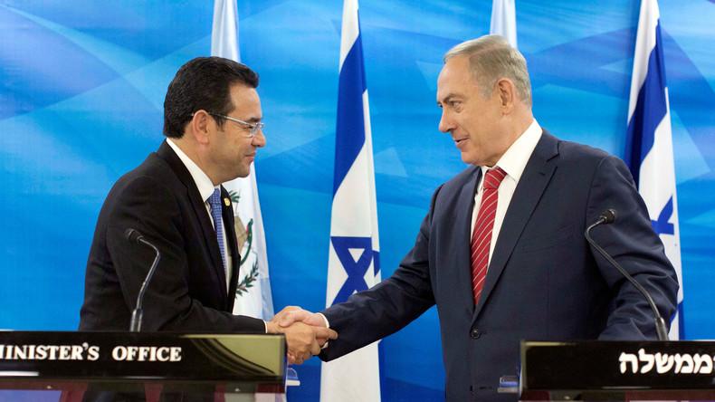 Israël : le Guatemala déménagera son ambassade à Jérusalem