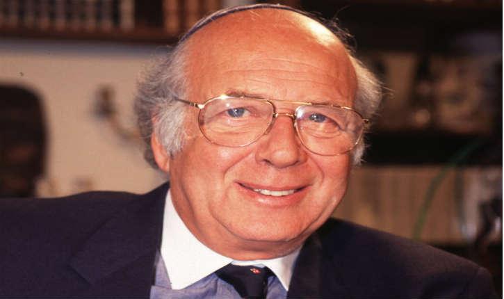 Le grand rabbin Josy Eisenberg, présentateur de l'émission «La source de vie» sera enterré à Jérusalem