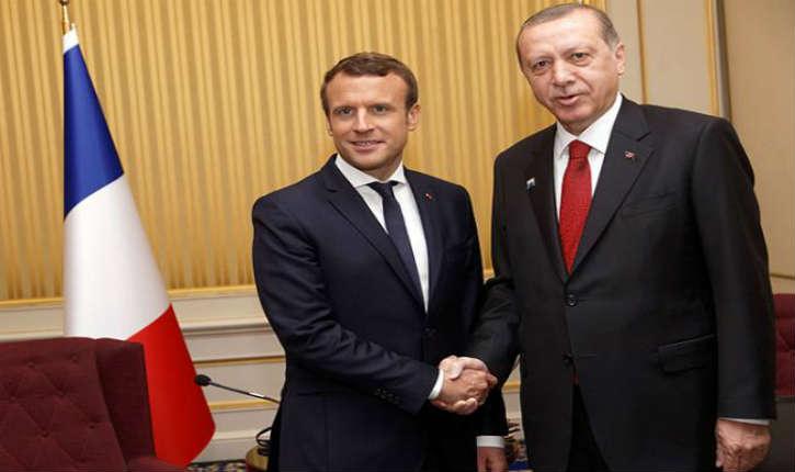 Macron va recevoir Erdogan pour s'entretenir sur le dossier syrien et palestinien