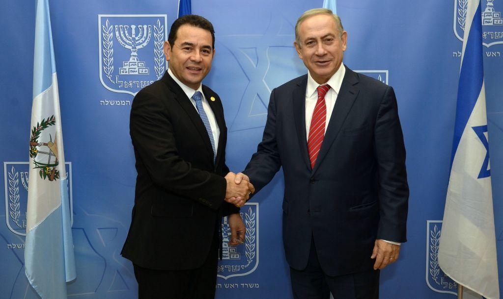 Le Guatemala annonce le transfert de son ambassade de Tel-Aviv à Jérusalem