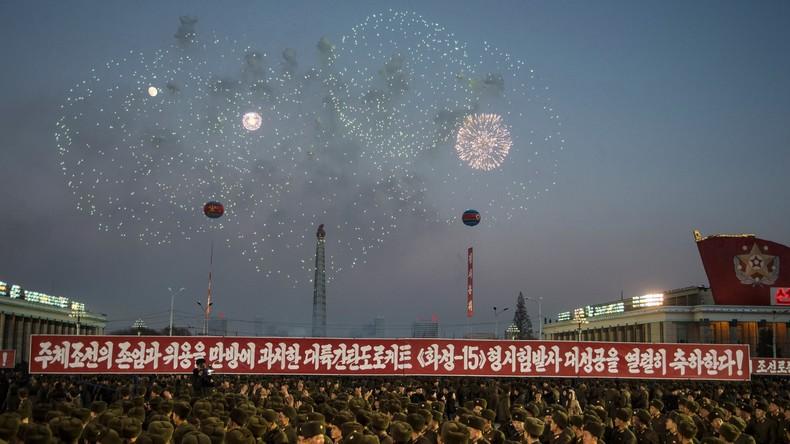 Provocation: La Corée du Nord célèbre en grande pompe son nouveau statut d'«Etat nucléaire»