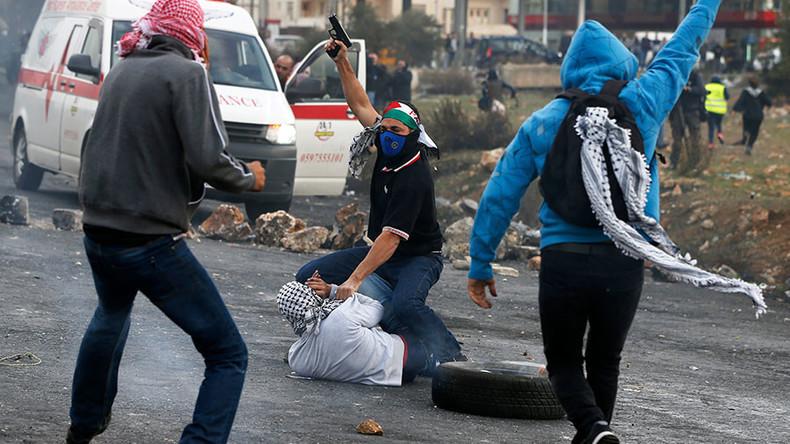 Des agents infiltrés israéliens dispersent une manifestation de Palestiniens à Ramallah (Vidéo)