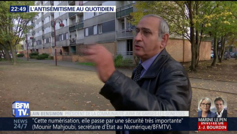 [Vidéo] Témoignages: L'antisémitisme au quotidien en France…  «Les Juifs sont moins de 1% de la population mais concentrent près de 50% des actes racistes…»