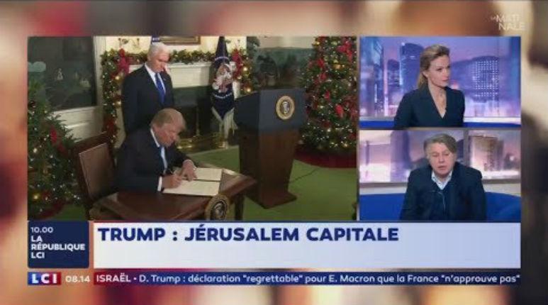 [Vidéo] Gilbert Collard «Je soutiens la décision de Trump de reconnaître Jérusalem capitale d'Israël. Israël est un Etat qui a le droit de choisir sa capitale»
