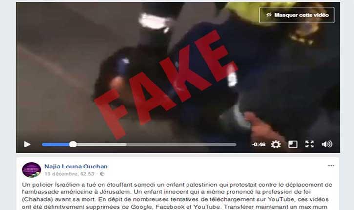 [Video] Pallywood: la nouvelle vidéo mensonge qui buzz chez les pro-palestiniens