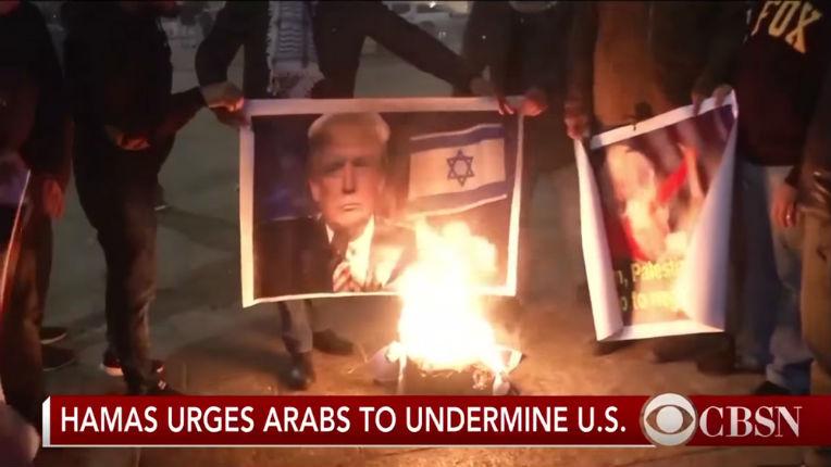 La vraie réponse palestinienne au discours de Jérusalem de Trump «Les journalistes sont complices des Palestiniens pour créer l'illusion que la troisième guerre mondiale va éclater après la décision de Trump sur Jérusalem»