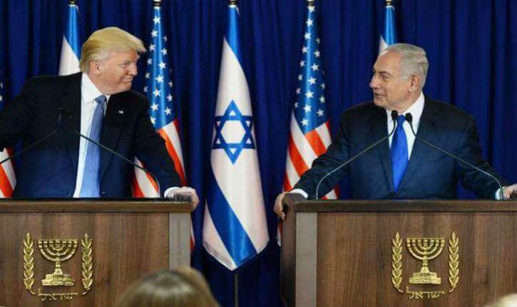 La reconnaissance de Trump est un événement historique à l'image de la Déclaration Balfour