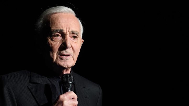 Charles Aznavour : «Si un jour Marine Le Pen était élue, elle serait ma présidente»