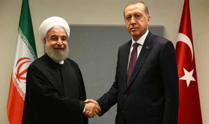 Erdogan juge «adaptée» l'attitude du président iranien Hassan Rohani face aux manifestations