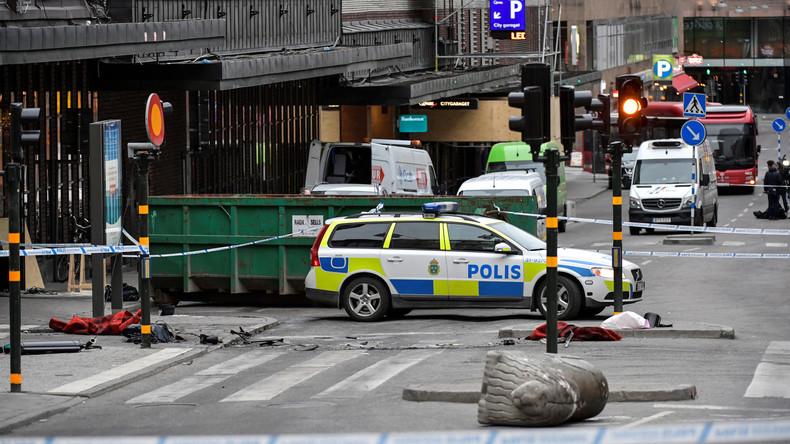 Attaque au camion bélier à Stockholm: le migrant voulait tuer des «infidèles» pour venger le «califat»