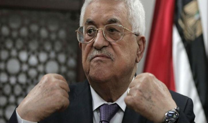 Mahmoud Abbas déclare que la législation israélienne ne l'empêchera pas de payer des terroristes. 340 millions de dollars en 2018