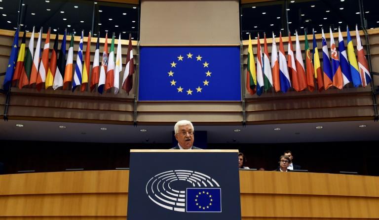 Abbas appelle les 28 de l'UE à reconnaître «rapidement» la Palestine comme Etat