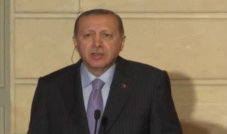 [Vidéo] un journaliste de France 2 interpelle Erdogan sur le terrorisme, agacé il accuse les Etats-Unis