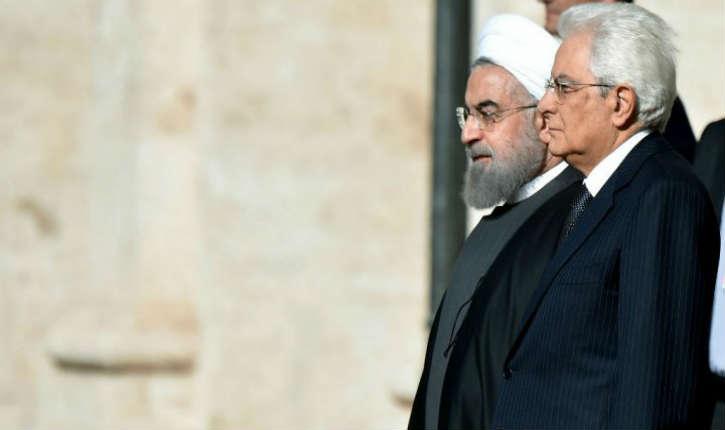 L'Italie signe un contrat de 6 milliards de dollars avec l'Iran