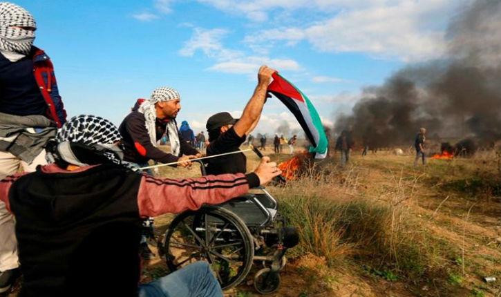 Les propagandistes anti-israéliens récupèrent la mort d'un handicapé à Gaza pour faire un symbole