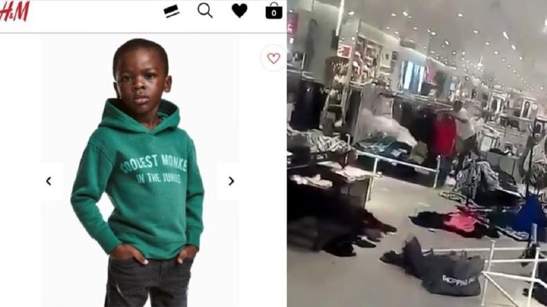 Saccagés pour une pub jugée raciste, plusieurs magasins H&M fermés en Afrique du Sud (Vidéo)