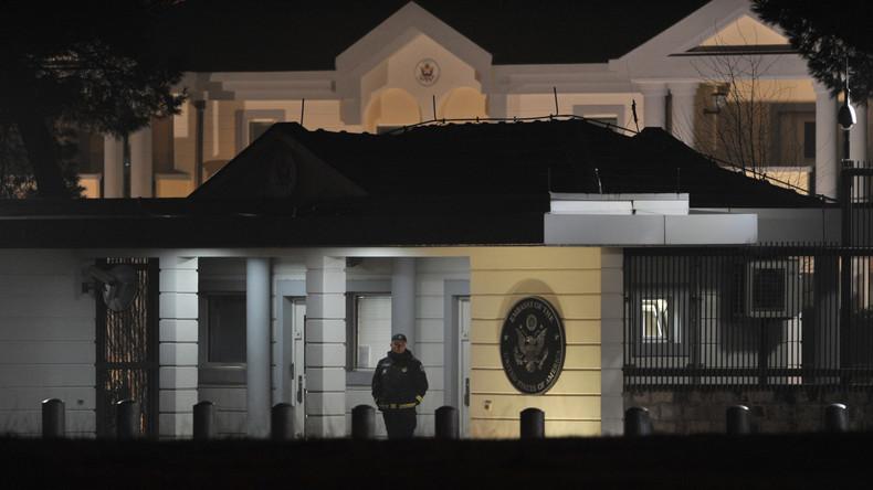 L'ambassade des Etats-Unis au Monténégro attaquée à la grenade
