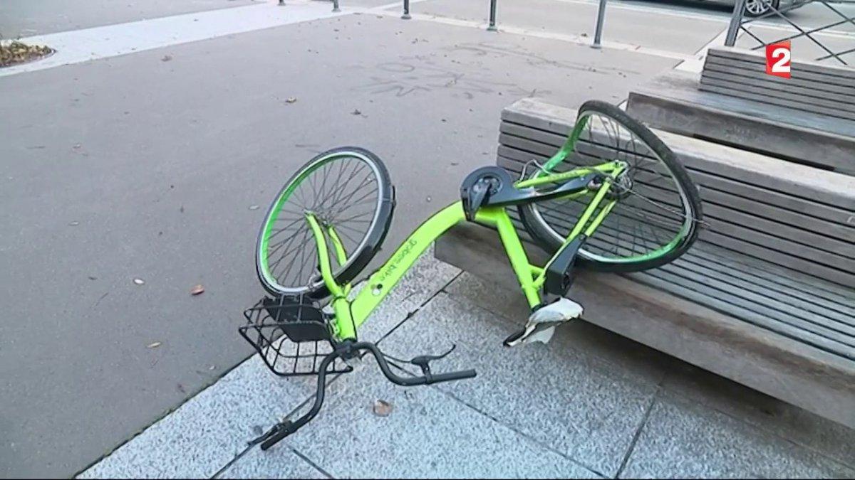 L'entreprise Gobee.bike quitte la France après la «destruction en masse» de ses vélos en libre-service
