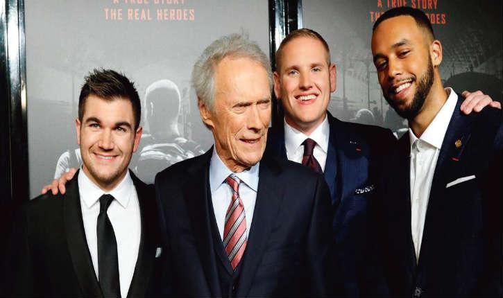 «le 15h17 pour Paris» un film de Clint Eastwood sur l'attentat déjoué du Thalys grâce à l'intervention de trois jeunes Américains