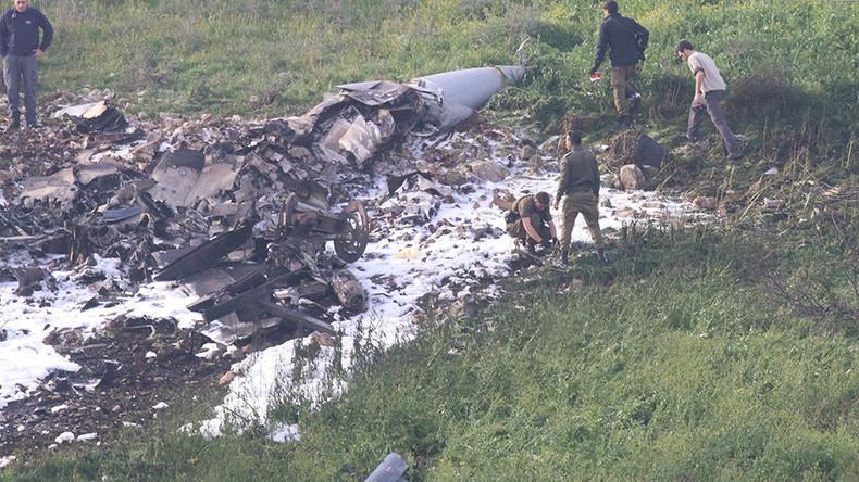 Un F-16 israélien abattu, Israël accuse l'Iran. Les pilotes sont sains et saufs