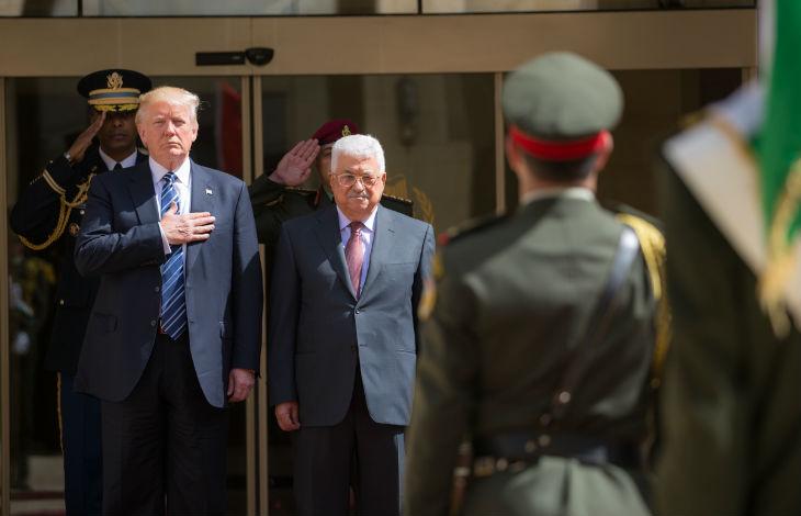 Trump: « les Palestiniens ne veulent pas la paix »