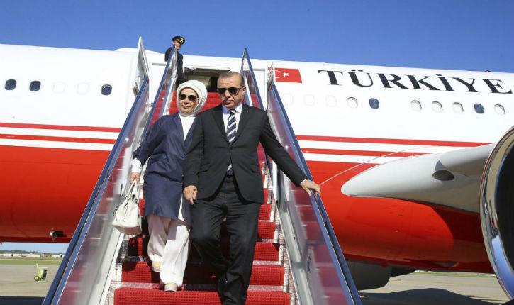 Erdogan,en tournée africaine,fait comme si de rien n'était contre les Kurdes au nord de la Syrie