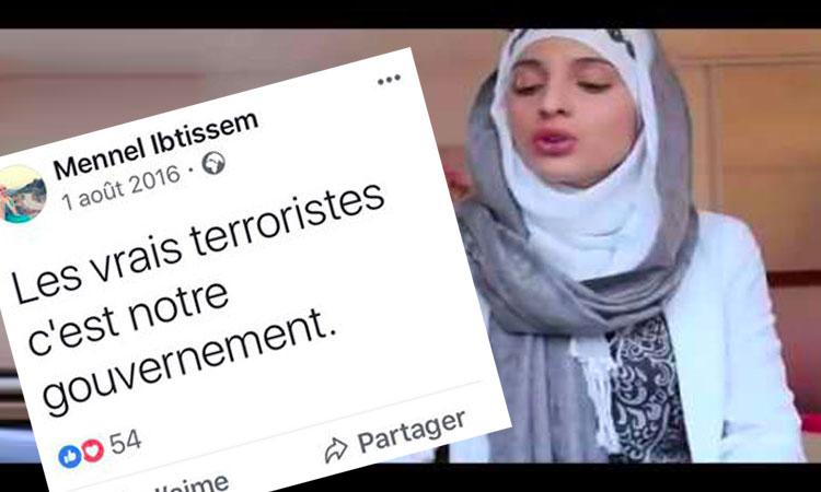 The Voice: Mennel Ibtissem, membre de l'extrême droite musulmane tient des propos complotistes et pro-terroristes