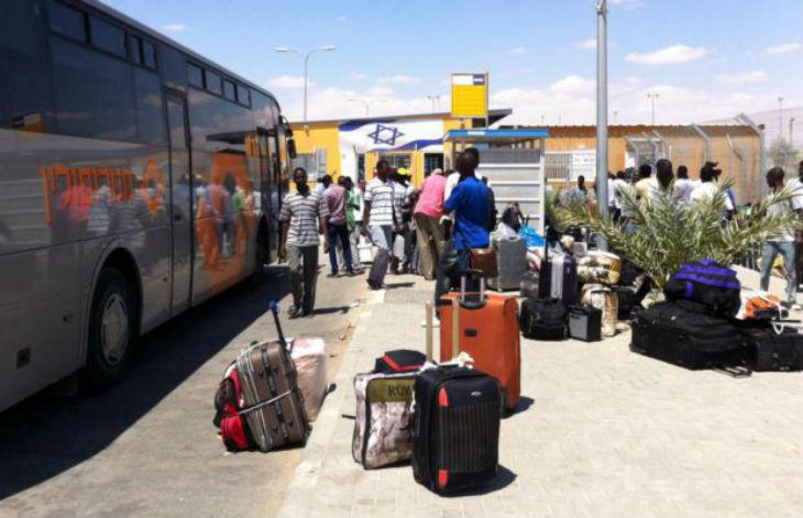 Israël: premières incarcérations de migrants africains illégaux