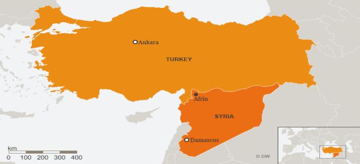 Le démenti des photos: les turcs prétendent n'avoir « jamais utilisé » d'armes chimiques contre les Kurdes en Syrie