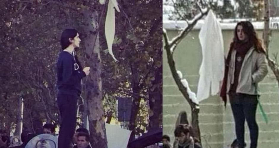 Deux ans de prison pour une iranienne qui a oté son voile en public