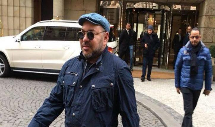 Le Roi du Maroc visite une synagogue de Paris, alors que des maghrébins égorgent et brûlent les Français