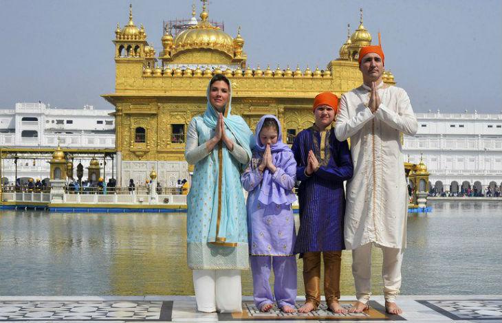Justin Trudeau, symbole d'un Occident moribond, s'est ridiculisé en Inde