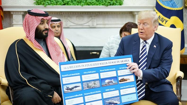 Trump au prince saoudien à propos de vente d'armes «525 millions de dollars… Pour vous, ce sont des cacahuètes !»