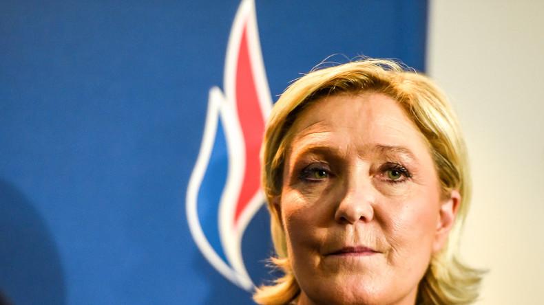Garde à vue de Nicolas Sarkozy : Marine Le Pen met en doute la «neutralité» du juge d'instruction