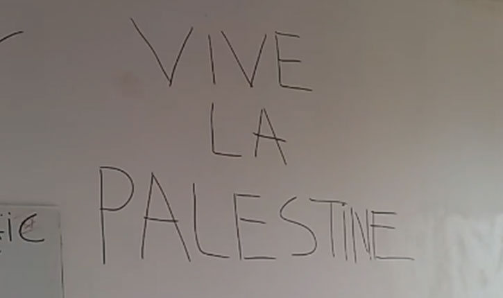 [Video] Le local de l'UEJF, mouvement antiraciste, saccagé par des pro-palestiniens antisémites
