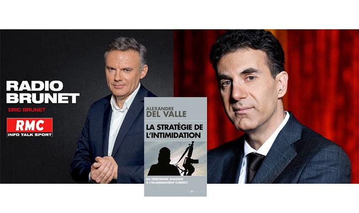 [Audio] «L'islamisme a deux outils de conquête: le victimisme et la force» Alexandre Del Valle sur RMC